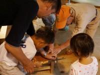 高山・市民の森 森林教室実施報告<木の実のクラフト>