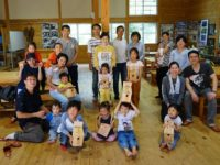 高山・市民の森 森林教室実施報告<小鳥の巣箱づくり>