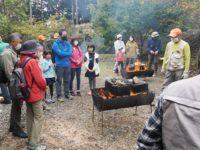 高山・市民の森 森林教室実施報告<花炭づくり>